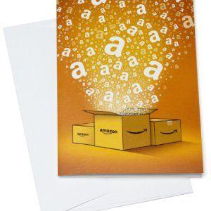 Cadeau idéal, échangeable contre des millions d'articles, pour faire plaisir à coup sûr. Carte cadeau à l'intérieur d'une carte de voeux prête à être remise pour n'importe quelle occasion. Livraison gratuite en 1 jour ouvré, sauf en Corse, Belgique et Luxembourg.
