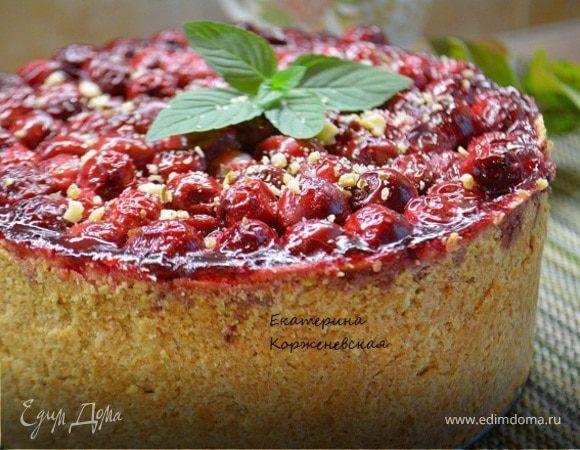 Хочу предложить Вам, друзья, очень вкусный, в меру сладкий пирожок! Рассыпчатая основа, нежная начинка. Прекрасное сочетание творога и вишни. Начинка чем-то напоминает крем, но при этом не растекае...