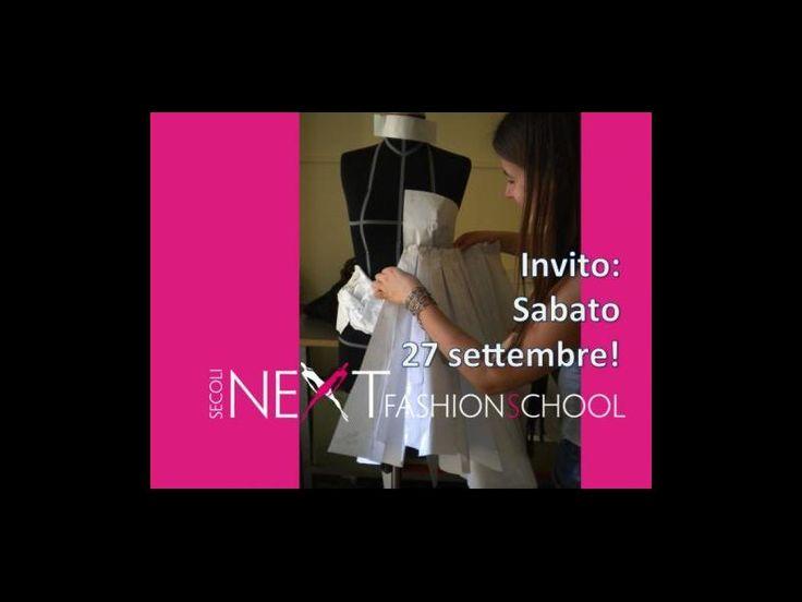 Invito:sabato 27 settembre! | Next Fashion School -Scuola di Moda che prepara stilisti, modellisti e professionisti del Fashion System