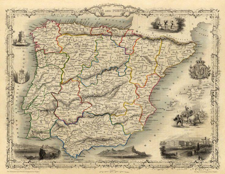 Mapa antiguo de reproducción archivo de mapa de por AncientShades