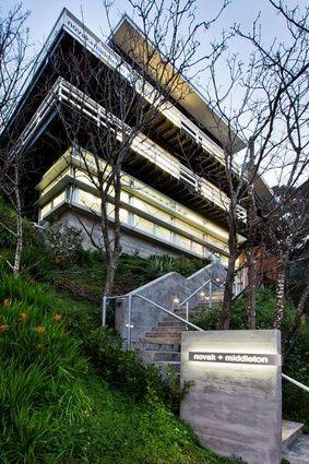 Novak + Middleton Office: Wellington CBD by Novak + Middleton Limited