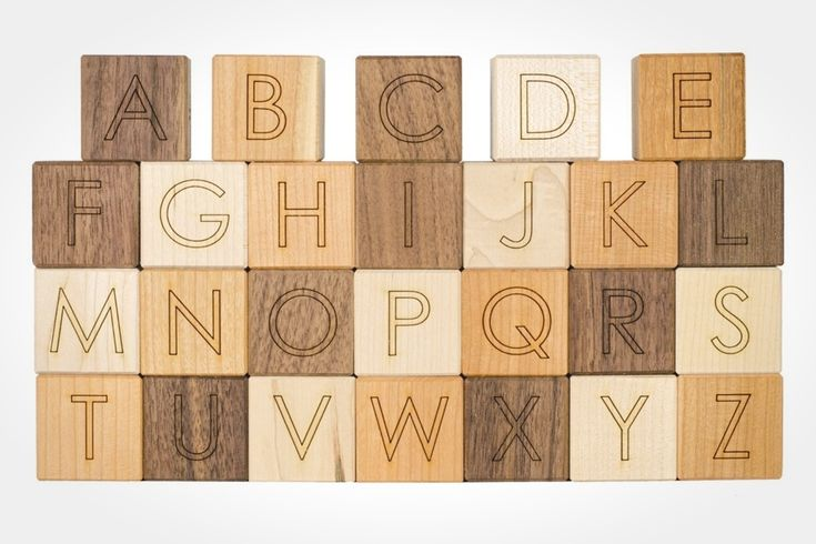 wooden block letters 70 best activities images on baby toys 15580