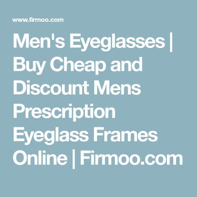 Men's Eyeglasses   Buy Cheap and Discount Mens Prescription Eyeglass Frames Online   Firmoo.com