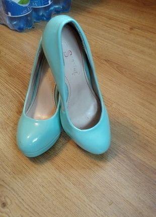 Kup mój przedmiot na #vintedpl http://www.vinted.pl/damskie-obuwie/polbuty/14349848-mietowe-szpilki-na-obcasie-i-platformie-nie-wysokie