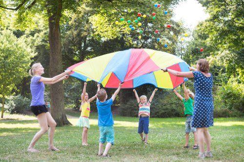 Juegos para una gincana - Juegos al aire libre - Juegos y fiestas - Guia del Niño