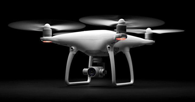 The DJI Phantom 4 is a Camera Drone That Can Fly Itself