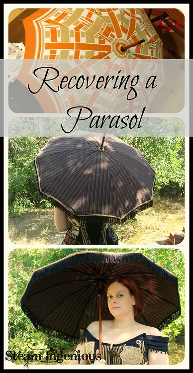 (via Steam Ingenious: Recovering a Parasol) Tutorial for...