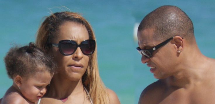 Love And Hip Hop Stars AMINA And Peter Are Photo'd ON THE BEACH . . . Showing Off Their BODIES . . . And BOTH Look Even BETTER Than We IMAGINED!!!