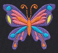 Las Flores - Mariposa design (UT10899) from UrbanThreads.com