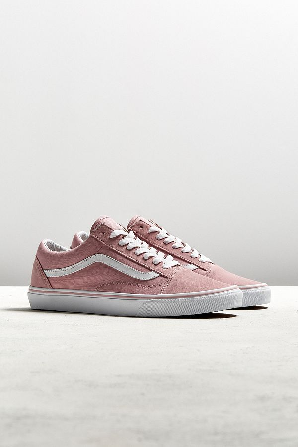 2849d52fb3 Vans Old Skool Pink Suede Sneaker