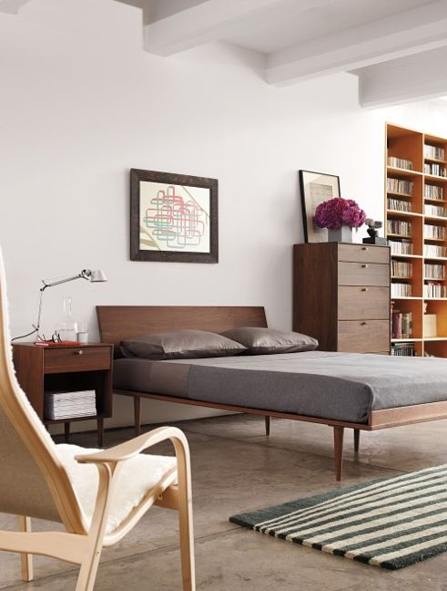 25 best ideas about modern bed designs on pinterest diy Mid century modern design ideas