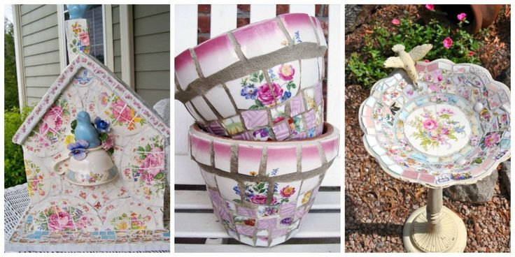 12 Creative Crafts that Take Broken China From Trash to Treasure - What to Do With Broken China