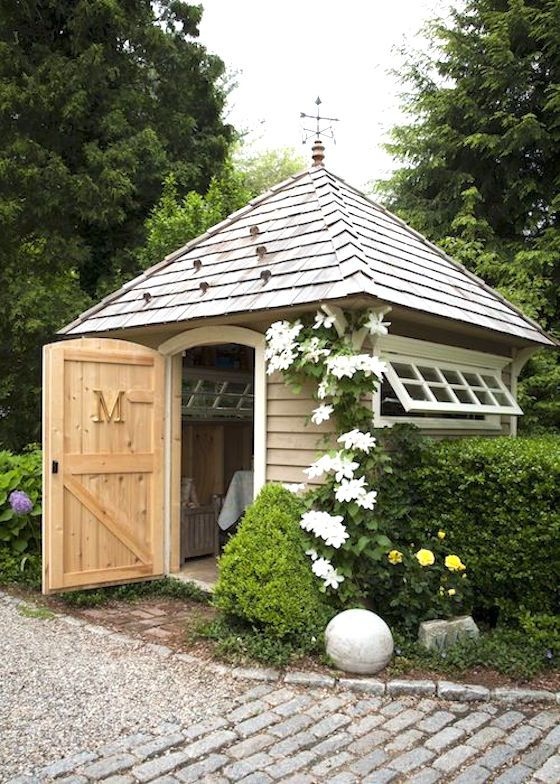 9 Attractive Garden Sheds | This Potting Shed has style and function.