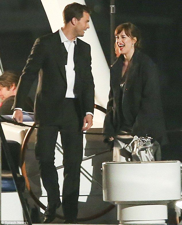 Fifty Shades Darker, April 27/16 - Coal Harbour, Vancouver, BC - Decked out:Dakota, 26, and Jamie, 33, made a stunning pair in black-tie formal wear for t...