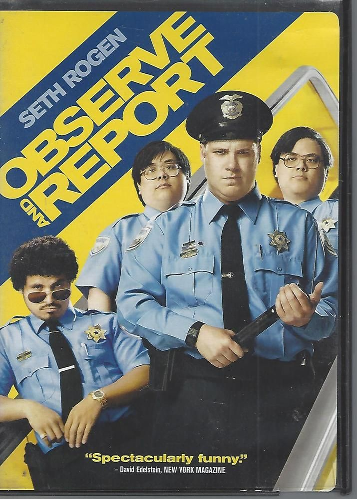 Observe and Report (DVD, 2009) Seth Rogen