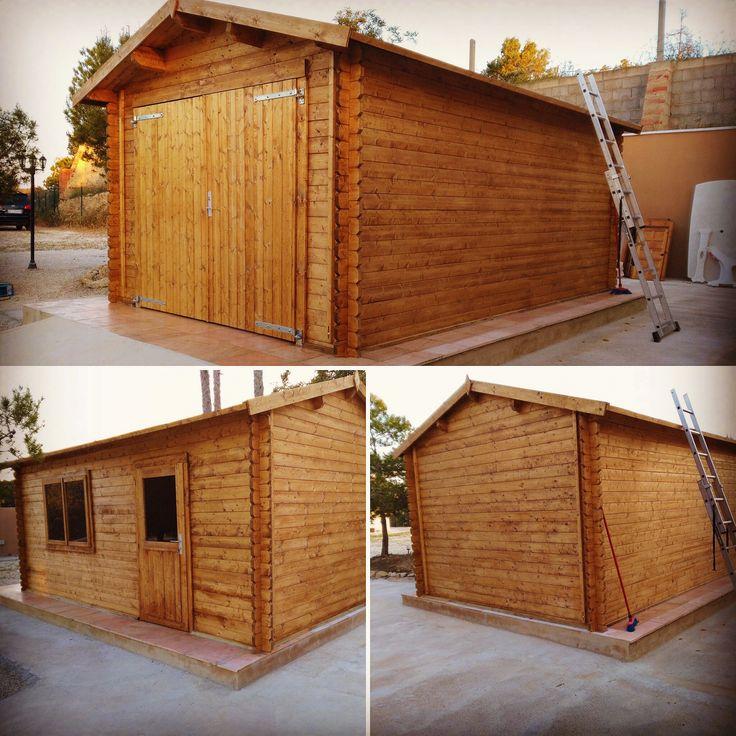 M s de 25 ideas incre bles sobre garaje de estructura de - Prefabricados de madera ...