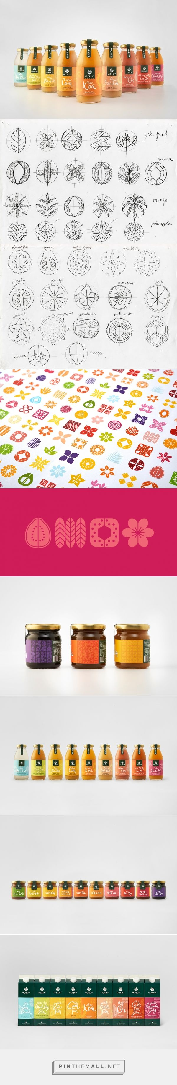 Fruit splash story - Packaging Branding And Graphic Design For Le Fruit On Behance By Rice Creative Ho Chi