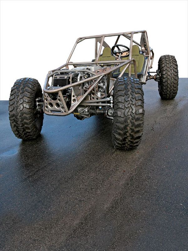 Build A Dune Buggy Front View Finished Photo 11163048