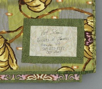 218 best Quilt labels images on Pinterest | Molde, Embroidery and ... : quilt labels samples - Adamdwight.com