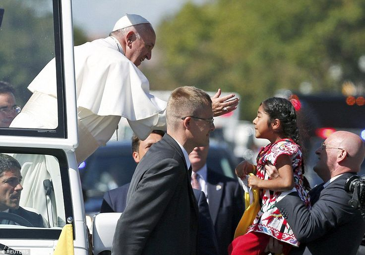 It Was All Staged=> Anchor Baby Sophie Cruz Rushes Pope With Kiss and Message to Help Her Illegal Parents  Jim Hoft Sep 23rd, 2015