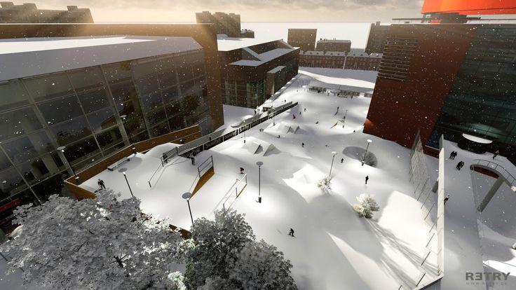 Aarhus får ambitiøs snow park hele december