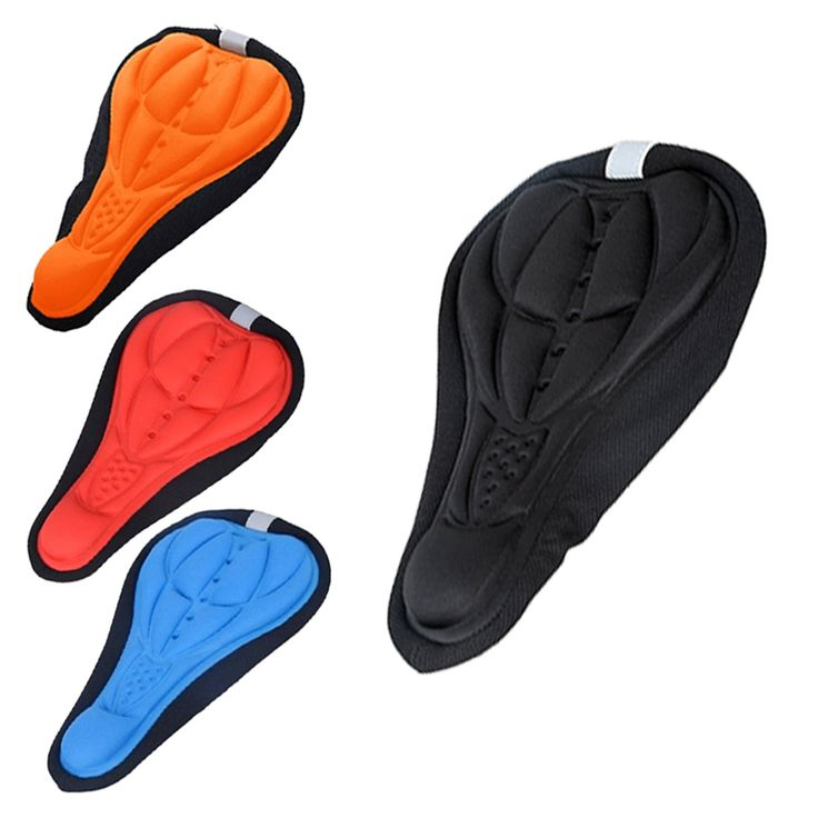 Outdoor Mountain Bike Cycling Road Bicycles Silicone Front Seat Saddle Cover Silica Gel Bike Saddle Cushion Cover Soft Pad US