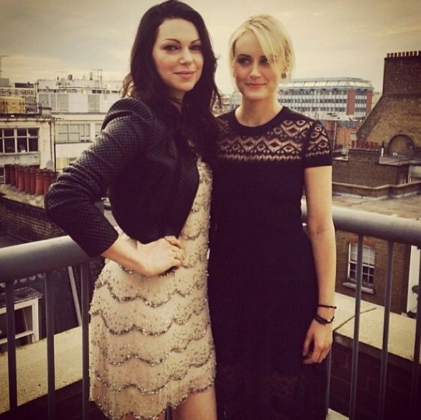 OITNB Laura Prepon and Taylor Schilling