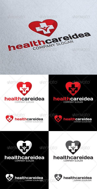 Health Care Idea Logo