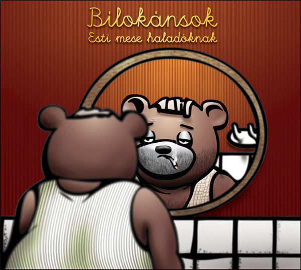 Cd cover for the Hungarian band Bilokánsok by Levente Kocsis, via Behance #Cdcover #TVMaci""