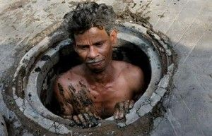 Of India's 1 billion people, 160 million are untouchables, or 'Dalits'('broken people') who are at the bottom of the Hindu caste system of segregation; light-skinned Brahmins at the top. In between are a myriad of castes and sub-castes. Untouchables, India's poorest people, are forced to perform society's most menial,degrading tasks.