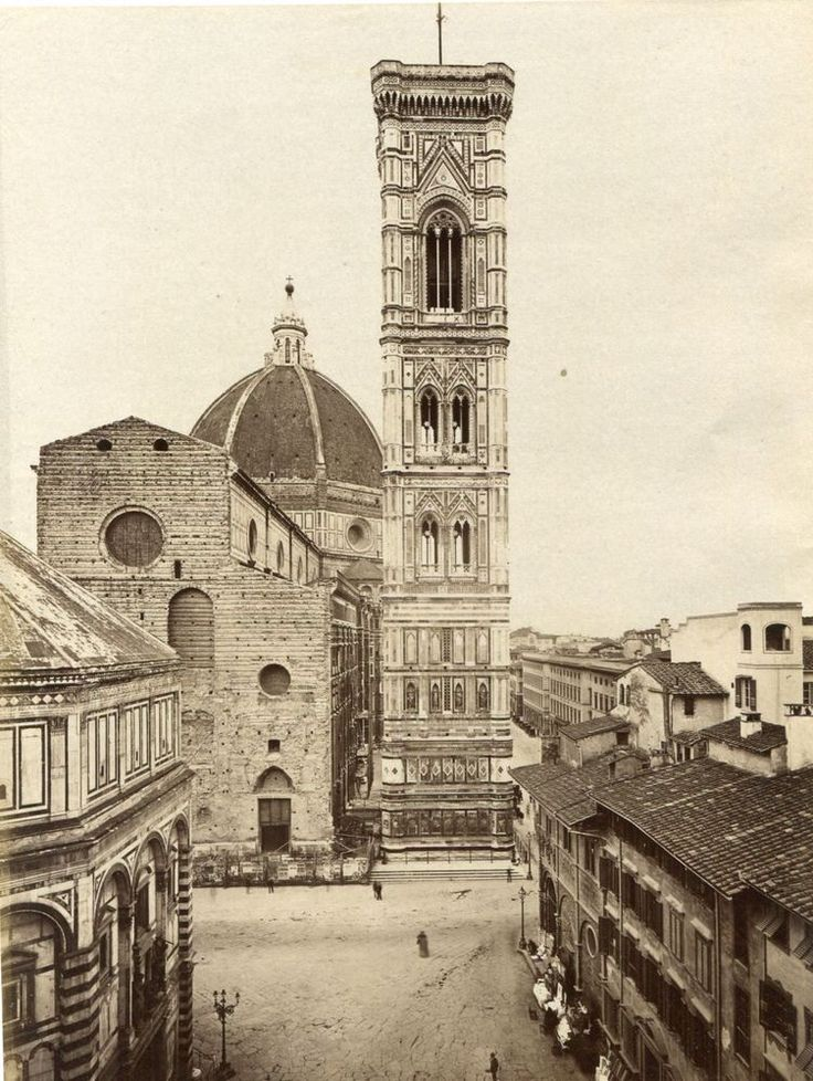Santa Maria del Fiore prima della realizzazione della facciata
