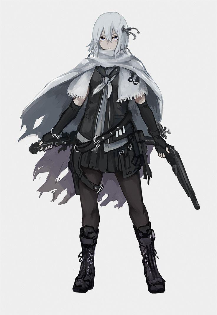 1419 best militar anime girl images on Pinterest | Anime girls, Guns and Firearms