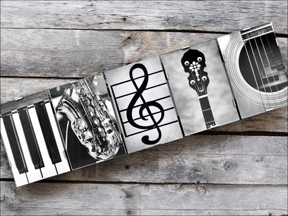 MUSIC Sign in Alphabet Photography  5 letters by FrittsCreative
