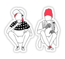 Stressed Out Sticker