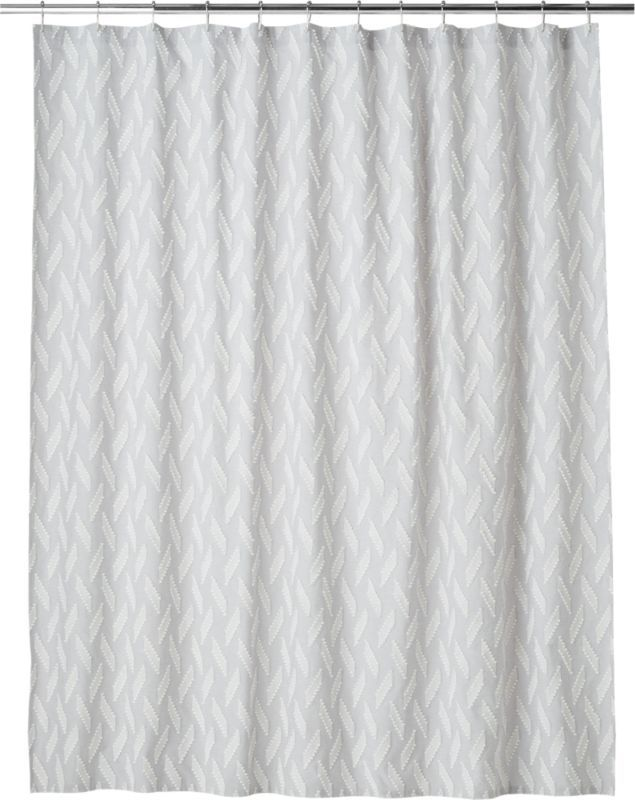 Marimekko Kukkula Grey Shower Curtain Gray Shower Curtains