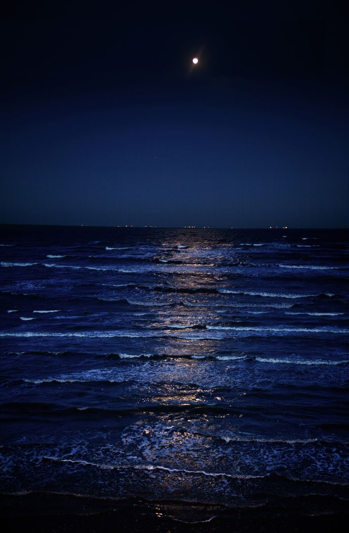 Color Azul Marino Navy Blue The Gulf At Night