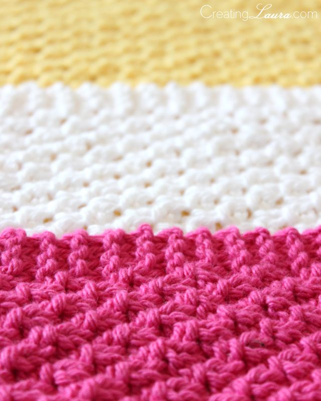 Baby Washcloths Knitting Patterns: Creating Laura: Washcloth Knitting Pattern