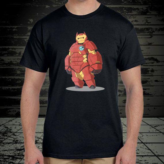 Iron Baymax design for tshirt by klikcklukc on Etsy