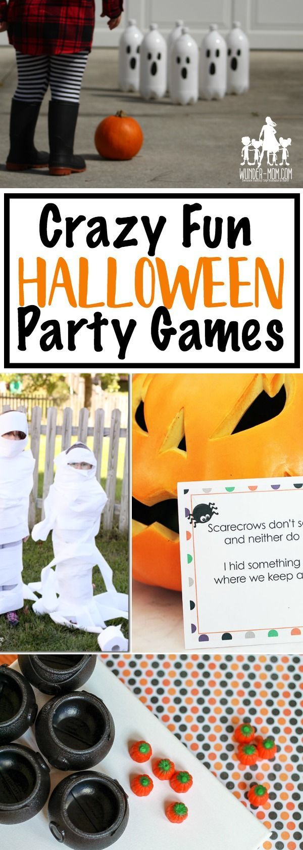halloween party games for kids - these are just great for a school halloween party or fun with the kids at home.  Planning a fall festival?  Check these out!