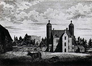 Baconsthorpe Castle-J. Page 1781 engraving - Baconsthorpe Castle - Wikipedia, the free encyclopedia