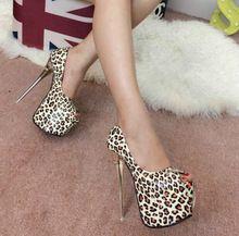 2016 neue ordnung mit ultra high heels 16 cm T bühne leopard fischkopf schuhe sandalen //Price: $US $48.00 & FREE Shipping //     #cocktailkleider