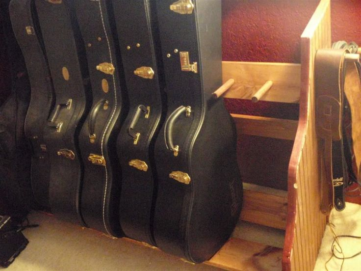 guitar storage ideas | Gibson Guitar Board: Guitar Storage/Display - Gibson Guitar Board
