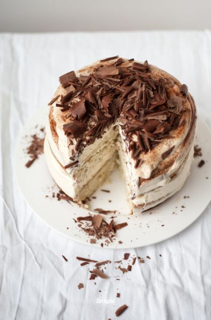 Tiramisu Cake in Shape (origimal recipe is in Germany, it's automatically translated by my browser)
