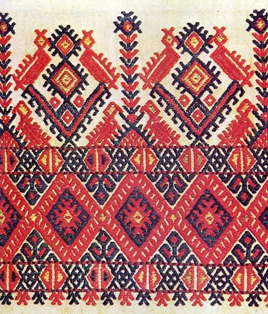 Crete, Cretan embroidery.