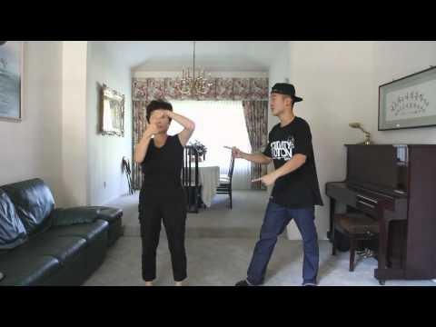Mom + Son - Gangnam Style: Love this! #Dance #Gangnam_Style  for emily
