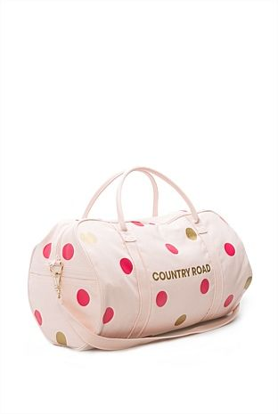 Women's New In Fashion Accessories - Country Road Online - Polka Dot Logo Tote - Country Road
