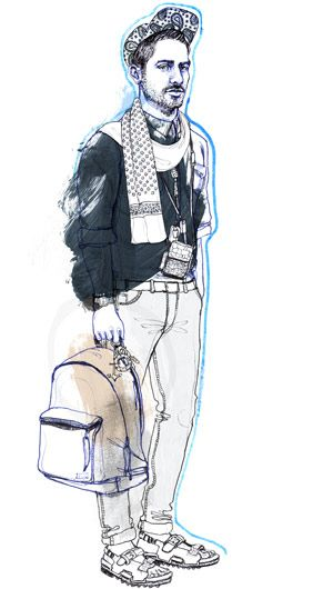 Bild fashion illustration - Silke Werzinger