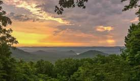 Morrow Mountain State Park, North Carolina