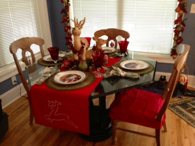 Christmas Kitchen Table Home Decor Sister Style Pinterest