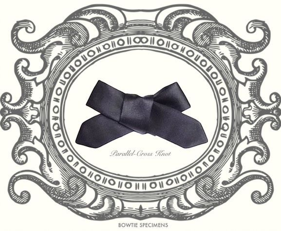 How to Tie a Bow Tie   20.Parallel-Cross Knot   蝶ネクタイの結び方   平行・交差結び